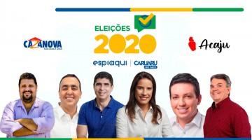 Confira a agenda desta segunda (12) dos candidatos à prefeitura de Caruaru