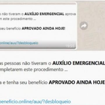 PF alerta para novo golpe no WhatsApp que promete o desbloqueio imediato do auxílio emergencial