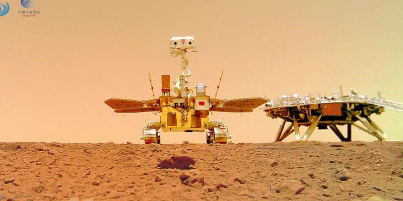 Sonda chinesa Tianwen-1 chegou ao planeta vermelho em15 de maio