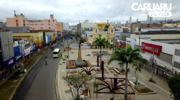 Lojas do Centro de Caruaru fecham nesta segunda (19)