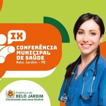 Prefeitura de Belo Jardim promove IX Conferência Municipal de Saúde