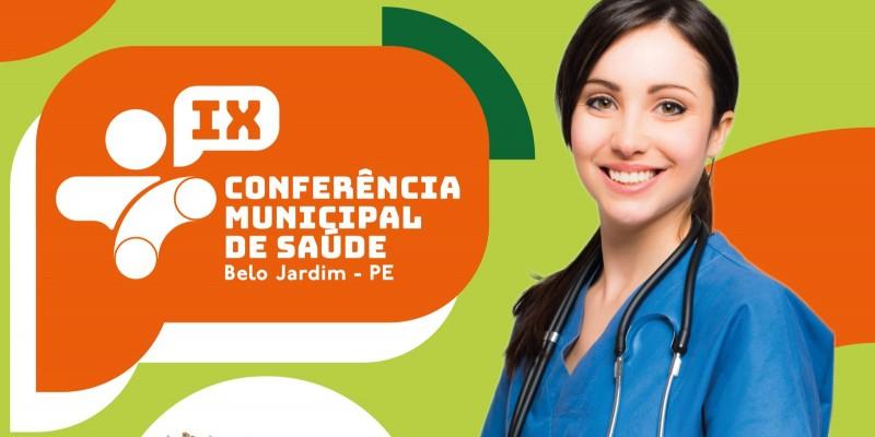A  Secretaria Municipal de Saúde de Belo Jardim irá realizar a IX Conferência Municipal de Saúde.