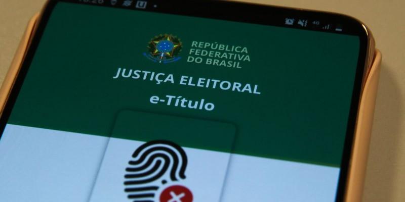 A justificativa pode ser feita pelo aplicativo E-título, disponível para celulares com sistemas Android ou IOS