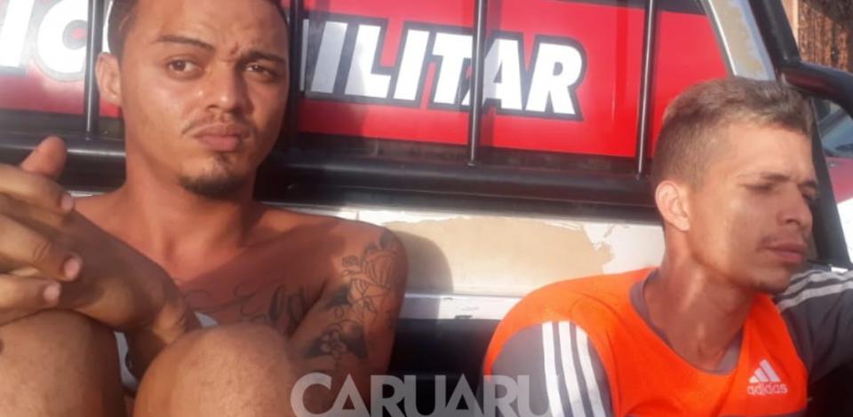 PM de Alagoas prende homens com armas e drogas em Maragogi-AL