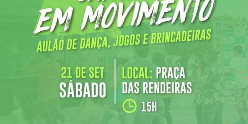 Prefeitura circula com o projeto por toda a cidade, promovendo atividades esportivas gratuitas