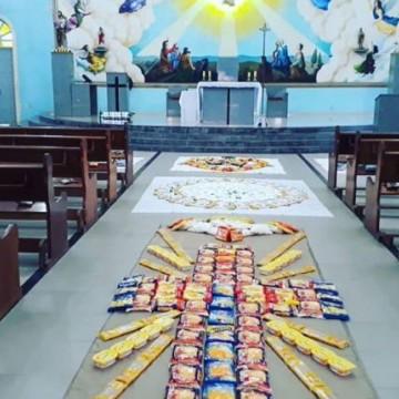 Corpus Christi tem missas online e tradicionais tapetes em Pernambuco