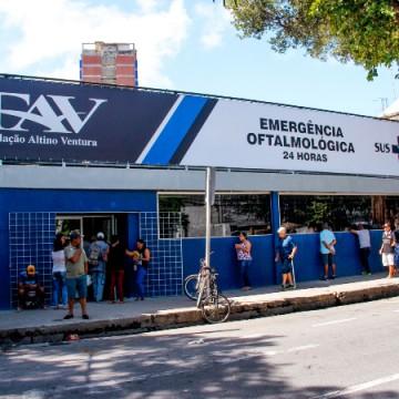 Fundação Altino Ventura limita atendimento de urgência oftalmológica