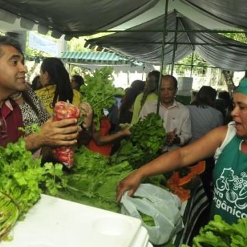 O TJPE inaugura a 7ª feira orgânica em Caruaru
