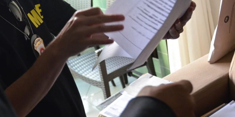 A operação deflagrada pelo Ministério Público da Paraíba cumpriu um dos seis mandados de busca e apreensão no Recife