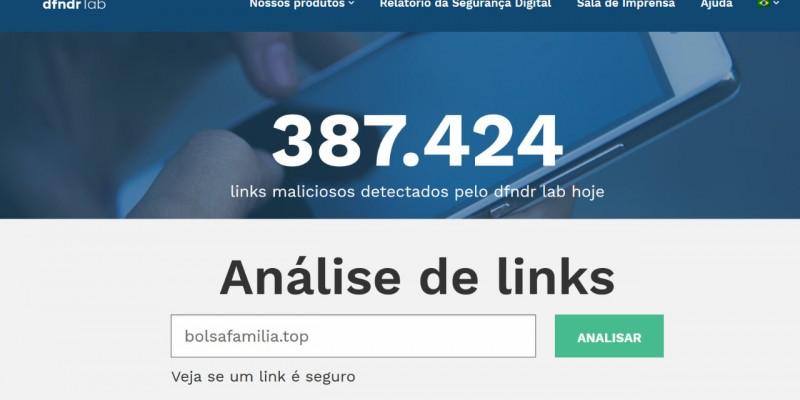 Mais de 180 pessoas acessaram a um link na rede social enviado por golpistas