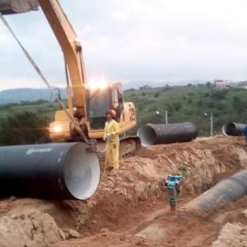 Compesa implanta rede de distribuição em Alagoinha, no Agreste pernambucano