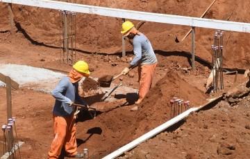 Construção civil registra queda inédita em Pernambuco