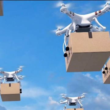 Drones Delivery ganham os ares
