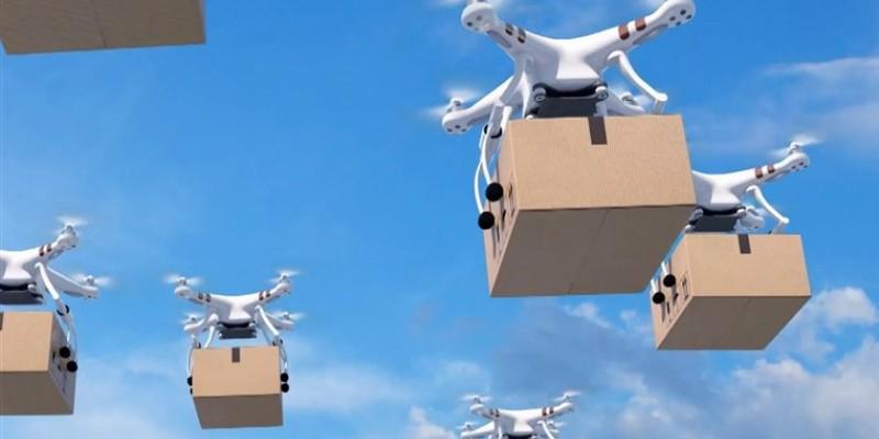 Além de gravações, agora os drones também atuam de forma Delivery