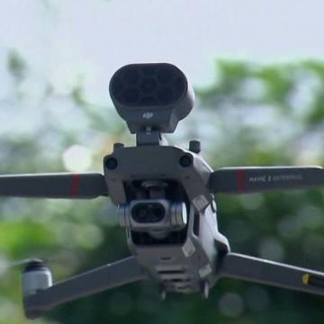 Drone permite acompanhamento de informações sobre o novo coronavírus