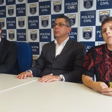 Polícia Civil  continua as investigações sobre crime que vitimou o professor  Sandro Cipriano