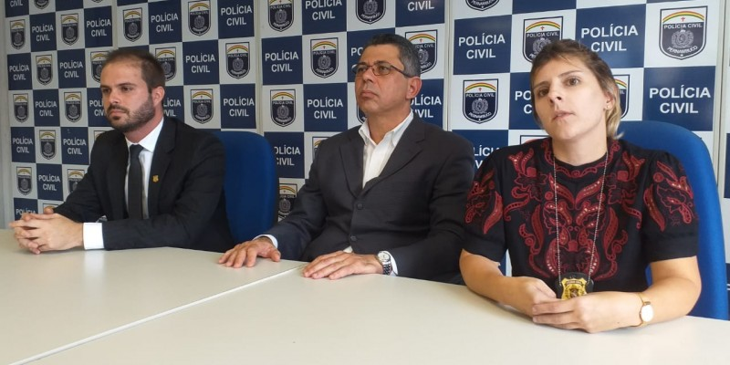 O homem apontado pela polícia como autor do crime, Anderson Antônio da Silva, é investigado pela prática de latrocínio