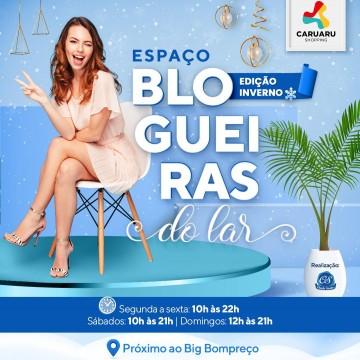 Centro de compras apresentaedição de inverno do 'Blogueiras do Lar'