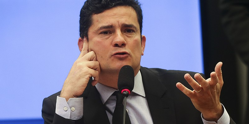 Rodrigo Maia reiterou que ministro tem colaboração no enfrentamento da corrupção no país