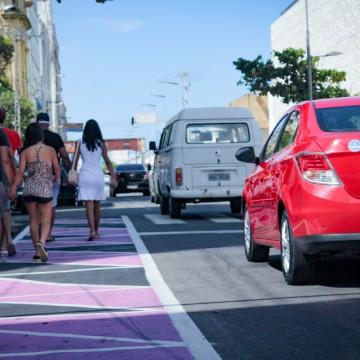 Avenida Alfredo Lisboa tem trânsito alterado no Recife