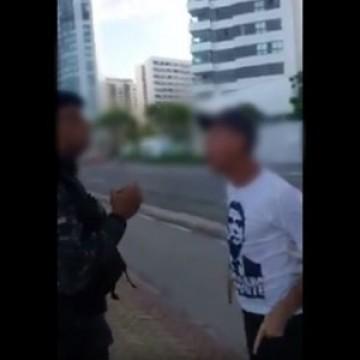 Idoso é detido por descumprir decreto Estadual e desacatar PM