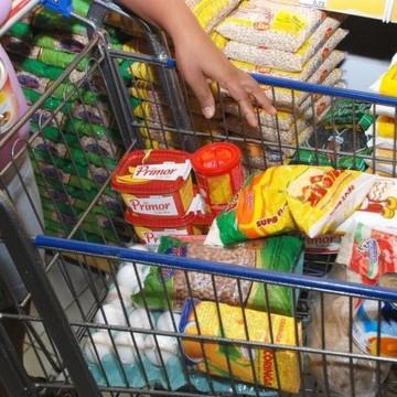 Custo da cesta básica cai 3,81 % no Recife nos meses de junho e julho