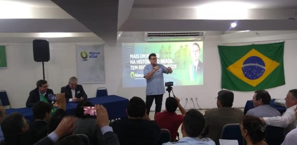 Partido Aliança pelo Brasil traça estratégias para recolhimento de assinaturas em PE