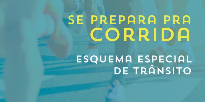 A maratona acontece neste domingo (29), entre a Zona Sul e no Centro da Cidade