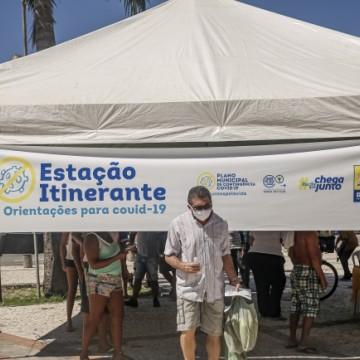 Prefeitura do Recife distribui máscaras nas Zonas Norte e Sul da cidade