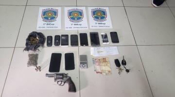 Polícia Militar recupera carros roubados, e prende grupo suspeito de praticar assaltos em Caruaru