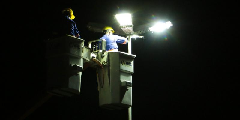 A ideia é viabilizar administração do parque de iluminação municipal