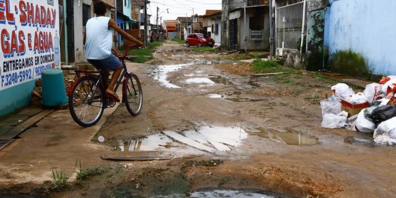 O fator sanitário e as exigências para higienização é fator dificultoso para populações em situação de vulnerabilidade social