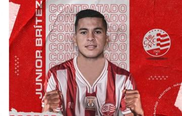 Náutico anuncia contratação do meia paraguaio Júnior Brítez