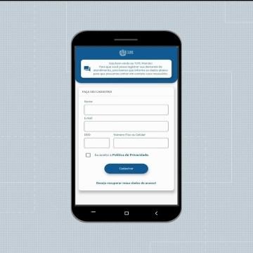 TJPE desenvolve aplicativo para acompanhamento de processos