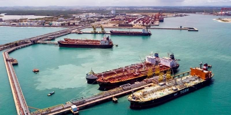 Durante a pandemia, o porto alcançou o maior volume de cargas desde a sua inauguração