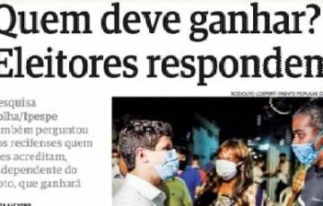 João Campos deve ganhar a eleição, segundo eleitores