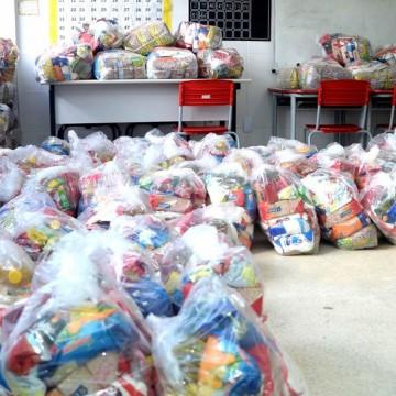 No Recife, cerca de 34 mil cestas básicas serão entregues para pessoas em vulnerabilidade social