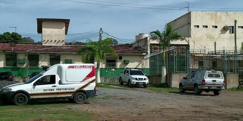 Três detentos ficaram feridos