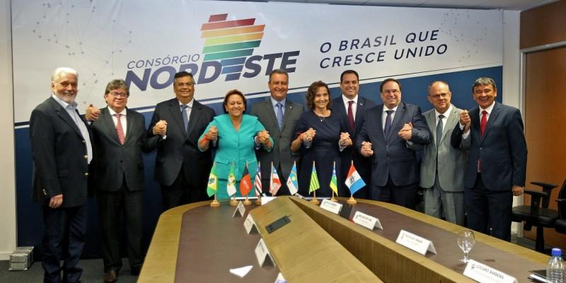 Grupo foi formalizado pelo Consórcio Nordeste, formado pelos nove chefes do executivo  estadual da região