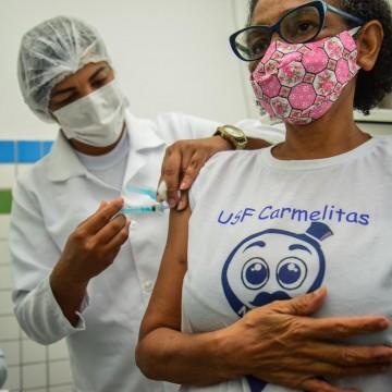 Camaragibe abre cadastro para vacinação contra Covid-19 para idosos a partir dos 60 anos