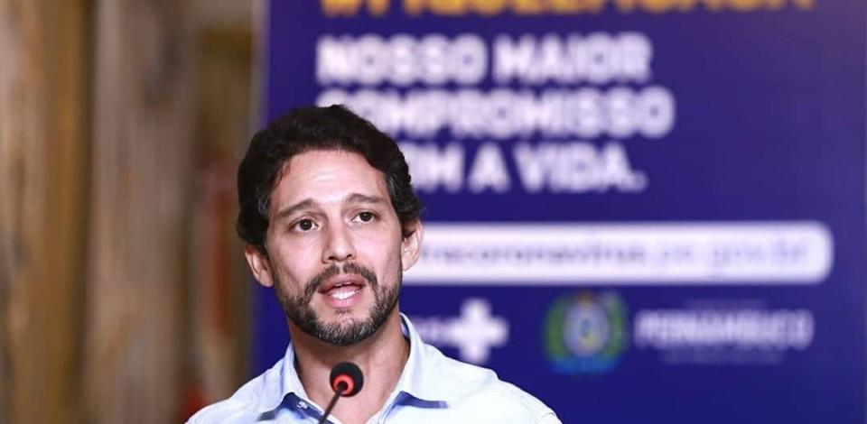 Secretário de Defesa Social de PE, Antônio de Pádua está com Covid-19