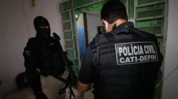 POLÍCIA DE PE PRENDE ENVOLVIDOS EM TRÁFICO DE DROGAS E LAVAGEM DE DINHEIRO, EM SEIS ESTADOS