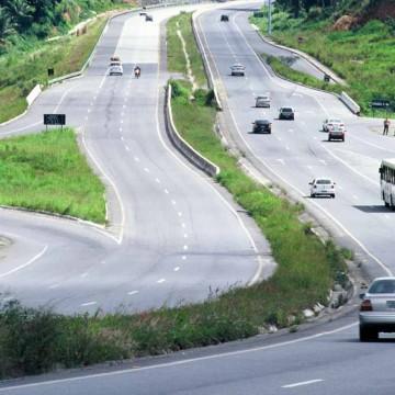 Em Pernambuco, estradas apresentam pouca movimentação em feriadão