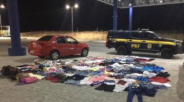 Cinco pessoas são presas em Alagoas com produtos roubados em Caruaru