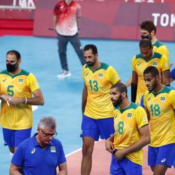 Vôlei: Brasil perde para Comitê Russo e se despede da briga pelo ouro