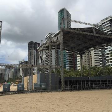 Réveillon no Recife terá cinco polos de comemoração