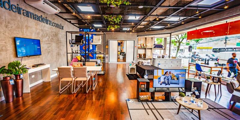 Empresa pretende inaugura um centro de distribuição e duas lojas físicas no Estado