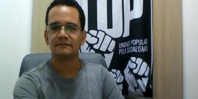 Candidato pelo partido Unidade Popular (UP) destaca quais são os objetivos do novo partido político, criado em 2019, além do plano de governo para saúde, educação, mobilidade urbana e saneamento básico