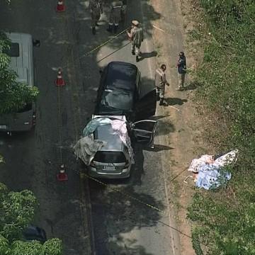 Acidente na PE 60 termina com três mortos e feridos