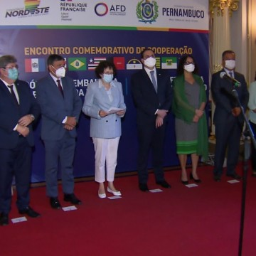 Governadores do Nordeste fecham parceria com a França nas áreas de meio ambiente e geração de emprego